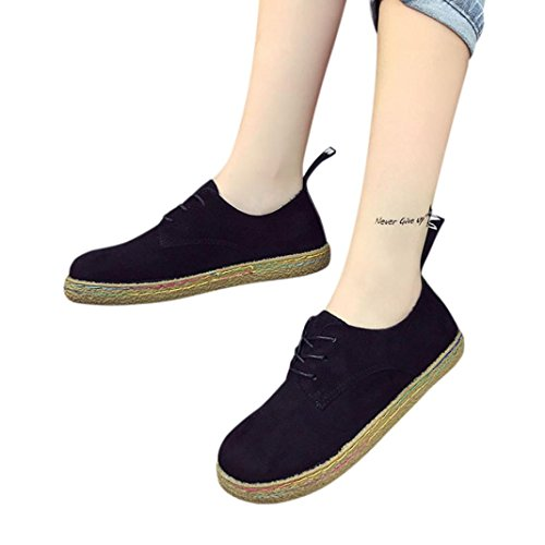 Black Winter Elevin Up Flat 2018Women Lace Fashion Leather Boots Shoes Soft Martin Suede TM Ankle qw6UwE
