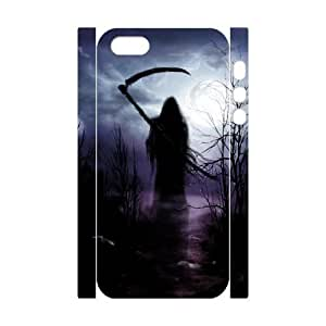 3D Bumper Plastic Customized Case Of Grim Reaper for iPhone 5,5S