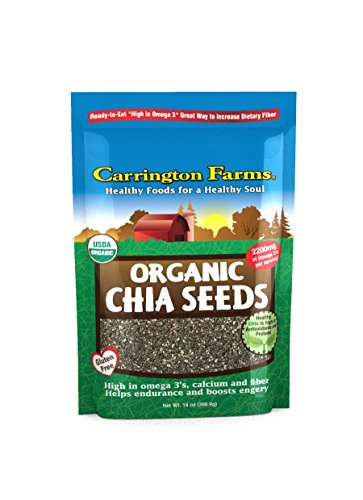 Carrington Farms Chia Seeds, 14 Ounce