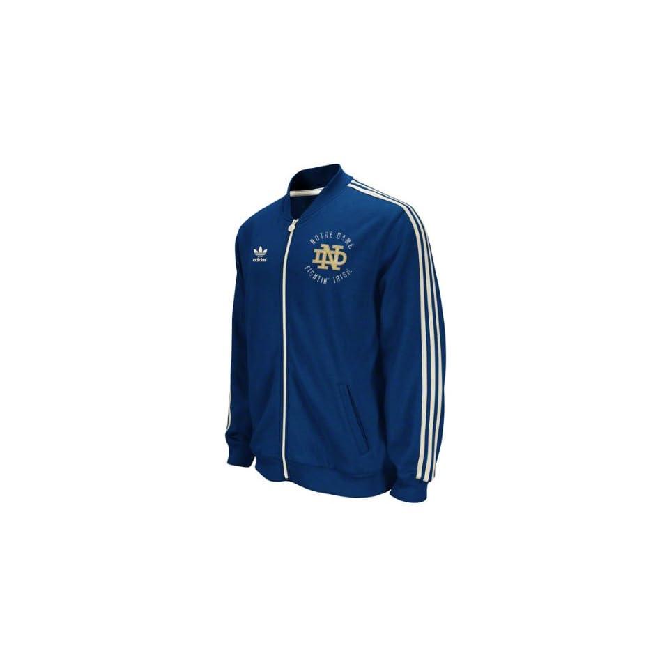adidas Notre Dame Fighting Irish Scorch Warm Up Jacket Clothing