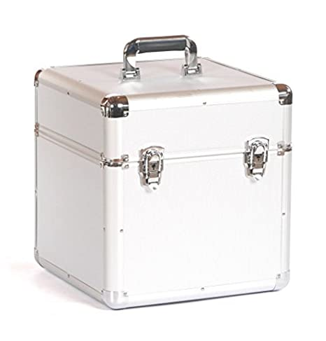 Studio X Large 12' Vinyl Record Collection DJ Flight Case Storage Box Holds 100