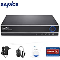 Sannce 4-Channel HD 1080N Home Video Security Surveillance System DVR Recorder -- NO HDD