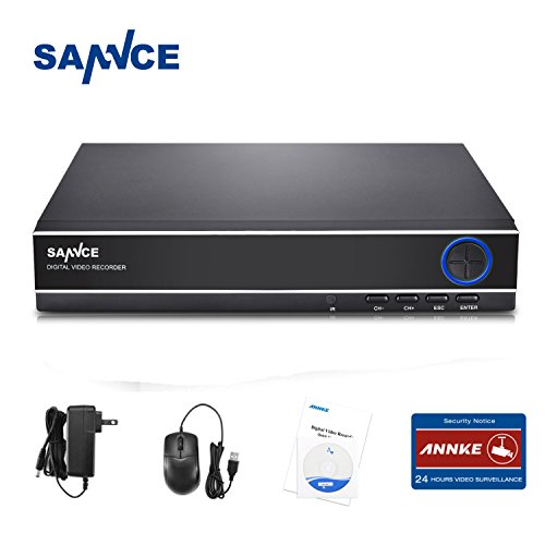 Sannce 8-Channel HD 1080N Home Video Security Surveillance System DVR Recorder -- NO HDD