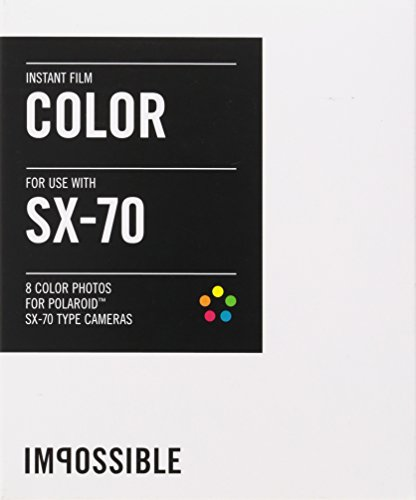 Impossible PRD2783 Color Film for Polaroid Sx-70 Cameras (Fuji 100c Polaroid Film)