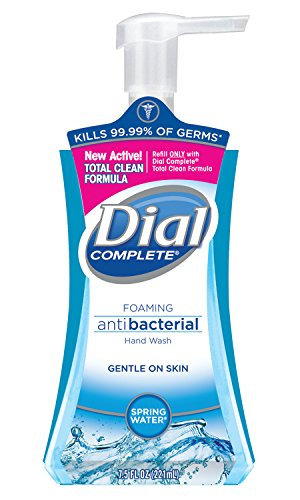 Dial 2095028 Complete Spring Water Antibacterial Foaming Hand Wash, 8/7.5 oz. (BZC), 7.402