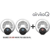 3pcs of AIRVITA Q Air freshener, Air Purifier 110V Antivirus influenza A virus (H5N1) removal function + English Manual