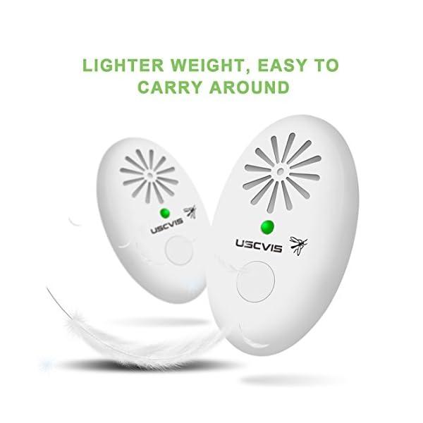Repellente Ultrasuoni, Elettronico Mosquito Repellente Insetti Topi Ultrasuoni per Scarafaggi, Topo, Ragni, Roditore… 7 spesavip
