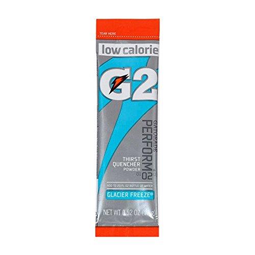 - Gatorade 13160 G2Instant Powder Sticks, Glacier Freeze, 20 oz. (Pack of 64)