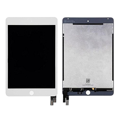 Touch Screen Digitizer and LCD for Apple iPad Mini 4 - A+ - White by Group Vertical