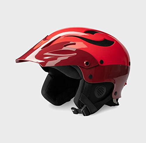 Sweet Protection Rocker Paddle Helmet, Earth Red/Scorch Red, ML