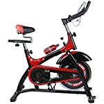 41365d3gUfL. SS150 KEKEYANG Ciclismo Spinning Bike, Indoor Cycling Cyclette con multifunzionali monitor di frequenza cardiaca Sensori, Lownoise professionale Indoor Cycle fitness regolazione della resistenza, 200kg Bear