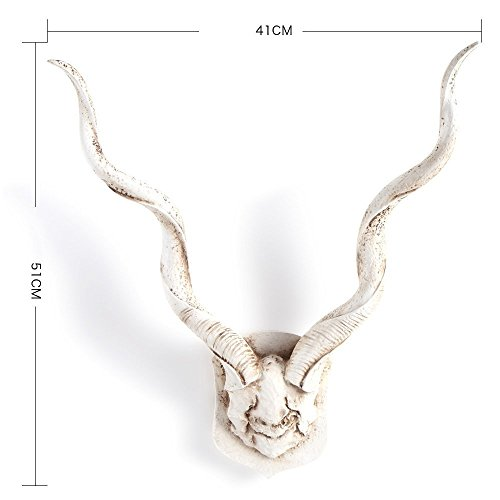 HOMEE Simulation Antler Wall Decoration Stereo Wall Decoration Creative Living Room Wall Decorations (Multiple Styles Available),3 by HOMEE