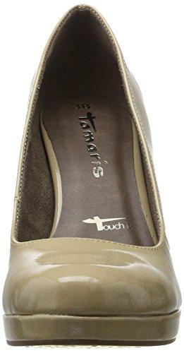 Cream Scarpe con Beige 22426 Donna Patent Tacco Tamaris xY5TEnXqT