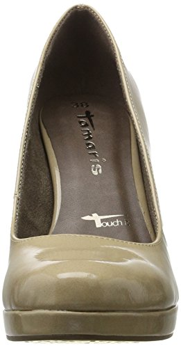 Tamaris Scarpe cream Beige Donna Con Patent Tacco 22426 p4nfrpqR