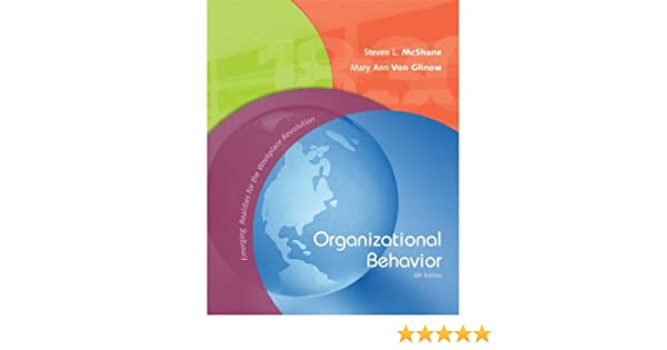 Organizational Behavior 4th Edition Book Only McShane