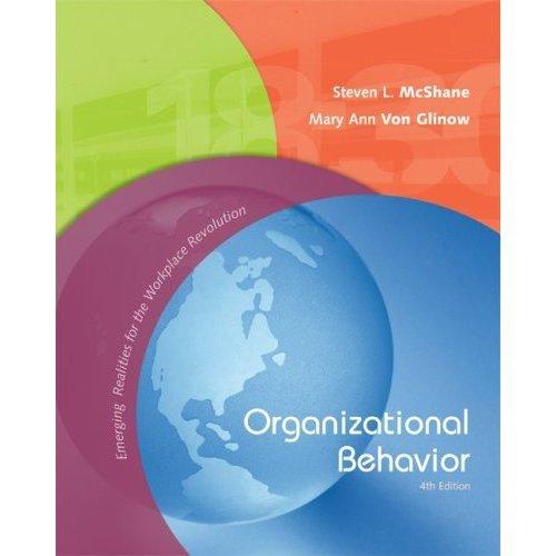 Organizational Behavior 4th Version (Book Only)