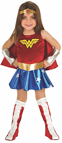 DC Super Heroes Child's Wonder Woman Costume, (Wonder Woman Halloween Costume For Girls)