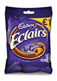 Cadbury Chocolate Eclairs 130g Bag