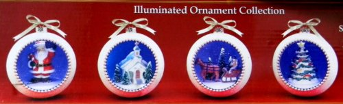 Mr Christmas Gold Label LED Illuminated Ornament -