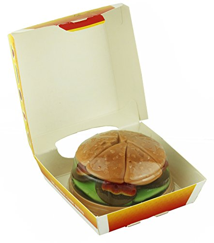 Raindrops Candy Gummy Burger, 4.59 Ounces (Burger Gummies)