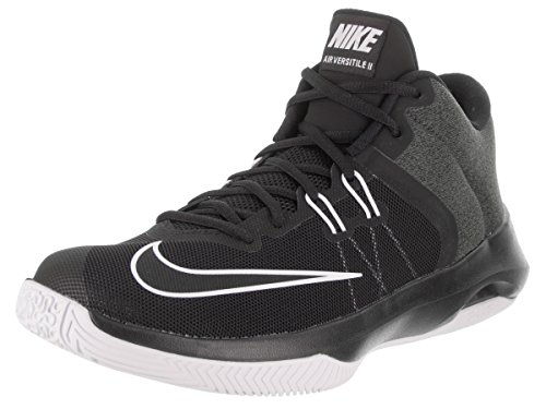 Scarpa Da Basket Nike Mens Air Versitile Ii Nera / Bianca