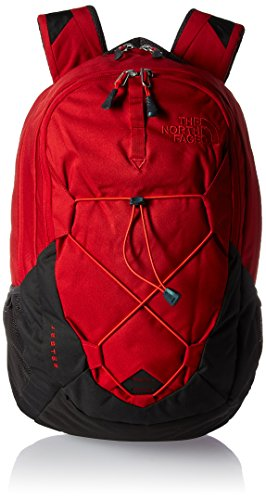 The North Face Jester Backpack - Ketchup Red Emboss/Asphalt Grey - One Size (Past Season)