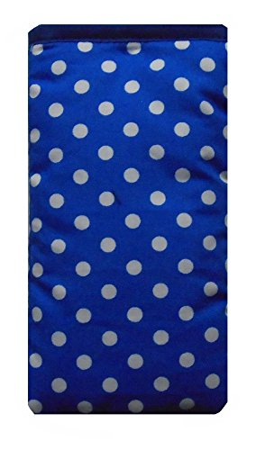 Cute Blue and White Polka Dot Print Apple iPhone 6s sock / Case / Cover / Pouch