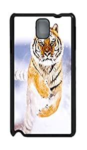 Fashion Style With Digital Art - Running Tiger Skid PC Back Cover Case for Samsung Galaxy Note 3 N9000