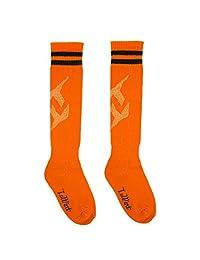 Luwint Kids Cotton Soccer Socks - Extra Cushion Thick Long Socks for Children