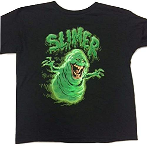 Hybrid Ghostbusters Slimer Kid's Youth T-Shirt (M, -