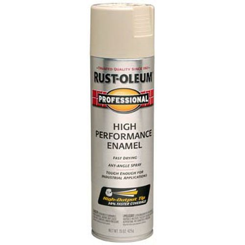 rust-oleum-7570838-professional-high-performance-enamel-spray-paint-almond-15-ounce