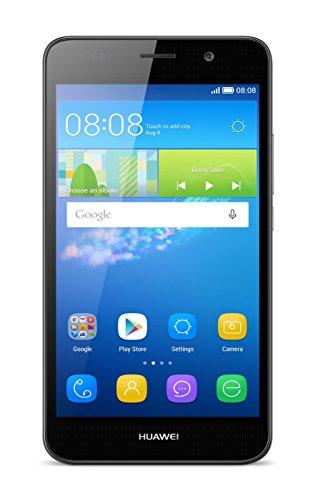 Huawei Y6 Smartphone (5 Zoll (12,7 cm) Touch-Display, 8 GB interner Speicher, Android 5.1) schwarz