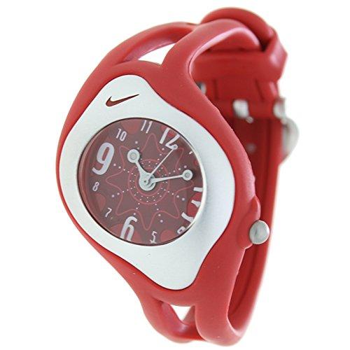 NIKE WK0004-605 - Reloj Nike TRIAX SWEEPER Analógico caucho - Unisex - Color Rojo