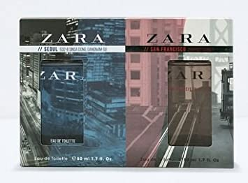 ZARA for Men Duo Seoul & San Francisco (50ml/1.7 oz each)