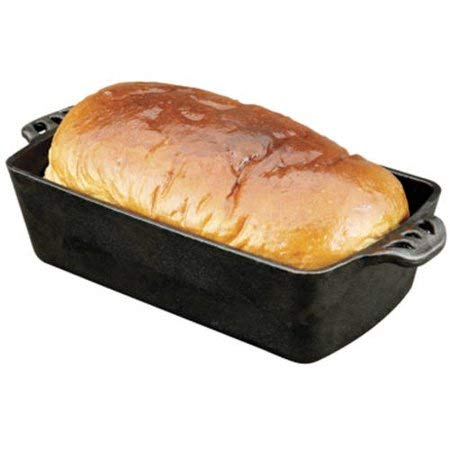 Camp Chef 2 X Home Seasoned Cast Iron Bread Pan