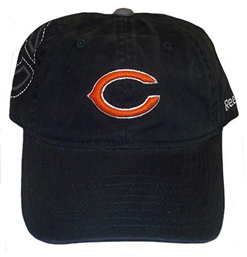Reebok Chicago Bears Ladies Black 2nd Season Slouch Adjustable Hat