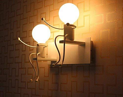 Lampada da parete e27 applique da parete interni design applique led