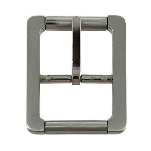 "Hanks 1.5"" Double Roller Replacement Belt Buckle - 100-Year Warranty"