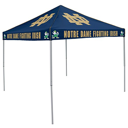 Ncaa Tailgating (NCAA Notre Dame Fighting Irish 9-Foot x 9-Foot Tailgating Canopy,)