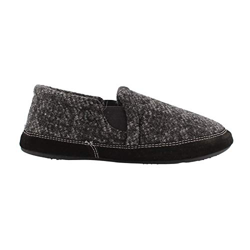 Acorn Men's Fave Gore Slipper Wide - Charcoal Tweed