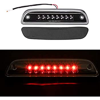 FOR 1995-2017 TOYOTA TACOMA BLACK HOUSING REAR THIRD 3RD BRAKE LED LIGHT LAMP Black