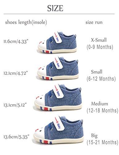 ba1ea594554ce Baby Shoes For Infant Newborn Girl Girls Boy Boys Kids Babies Toddler  Tennis Walking Running Size 4 5 Pink Blue White Red Preawalker Shoes  Sneakers ...