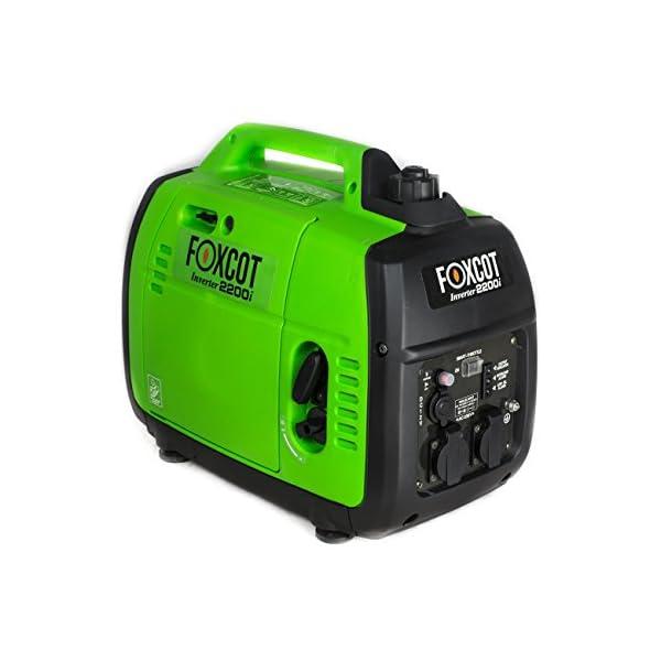 Generatore di Corrente Inverter 2,2 KW Foxcot GT-2200i silenziato 2 spesavip