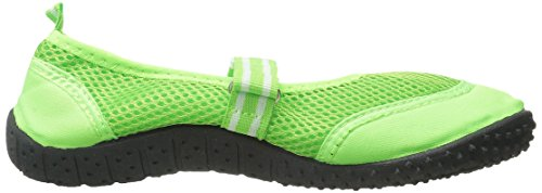 Londa Womens Water Shoes Aqua Socks Pool Beach Green 2910