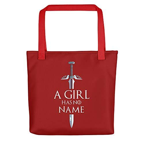 Red Handbags Tote Bags A Girl Has No Name Halloween]()