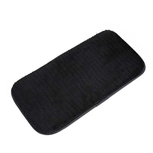 YUSHHO56T Car Armrest Box Pad Car Seats Accessoires Cushion Universal Winter Car Vehicle Central Armrest Box Cover Soft Plush Pad Cushion - Black from YUSHHO56T