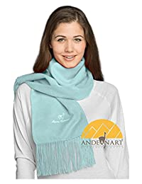 Alpaca Camargo Scarf by AndeanSun - Assorted Natural and Vibrant Colors Available ...