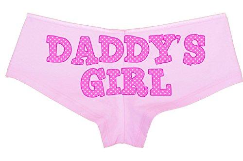 Knaughty Knickers - Cute Pink Polka Dot Daddy s Girl Boy Short Panties -  DDLG CGL BDSM fcd2b080c