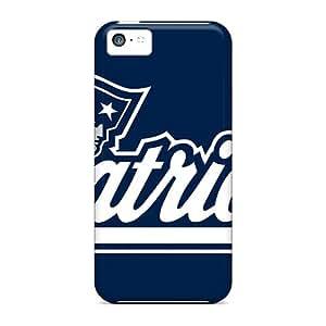 L.M.CASE Perfect Tpu Case For Iphone 5c/ Anti-scratch Protector Case (new England Patriots)