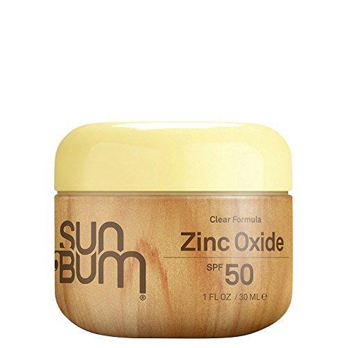 Sun Bum SPF 50 sVWTH Sunscreen Clear Zinc Oxide Lotion, 1 Ounce 4 Pack